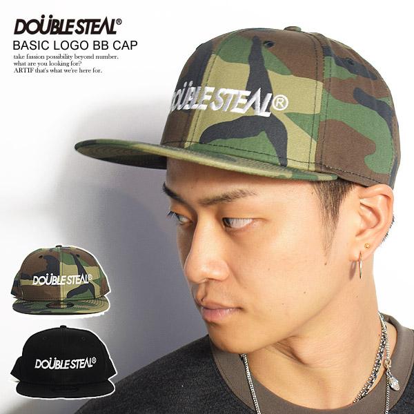 ダブルスティール キャップ DOUBLE STEAL BASIC LOGO BB CAP ストリート系 ファッション