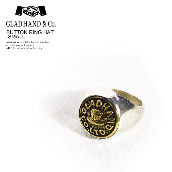 グラッドハンド リング GLAD HAND BUTTON RING HAT -SMALL- ストリート系 ファッション