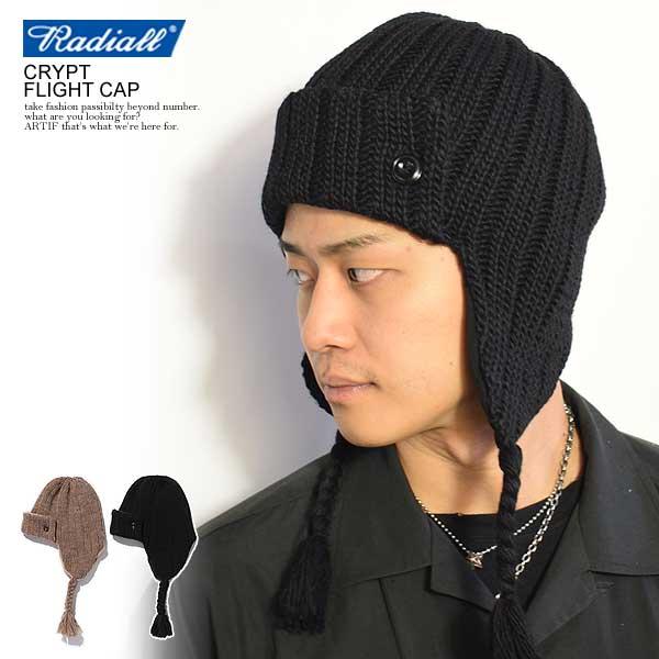 30%OFF SALE セール ラディアル キャップ RADIALL CRYPT - FLIGHT CAP メンズファッション ストリート系
