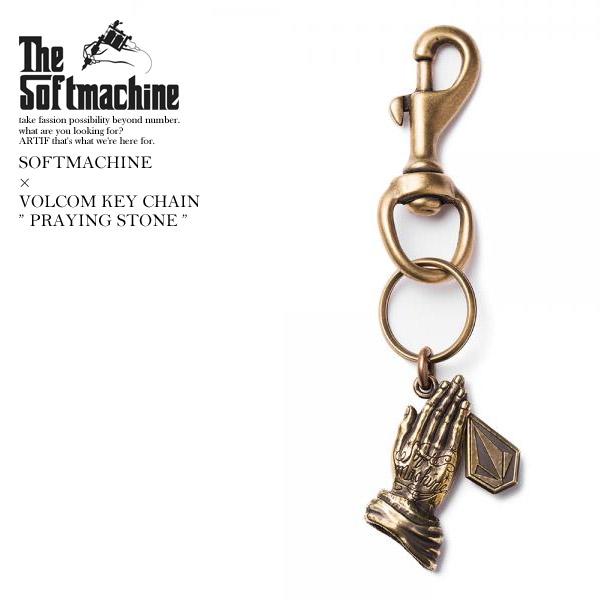先行予約 ソフトマシーン キーチェーン SOFTMACHINE SM x VOLCOM KEY CHAIN 6月~7月入荷予定 ストリート系 ファッション