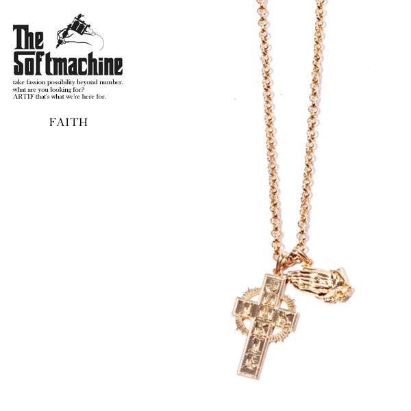 先行予約 ソフトマシーン ネックレス SOFTMACHINE FAITH 6月~7月入荷予定【ストリート系 ファッション】