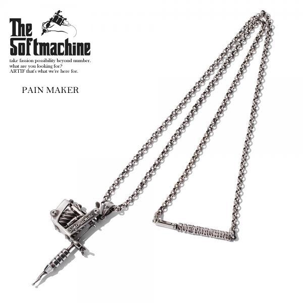 ソフトマシーン ネックレス SOFTMACHINE PAIN MAKER 【ストリート系 ファッション】