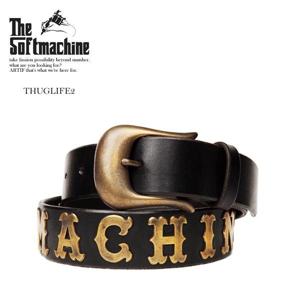 先行予約 ソフトマシーン ベルト SOFTMACHINE THUG LIFE2 7月~8月入荷予定【ストリート系 ファッション】