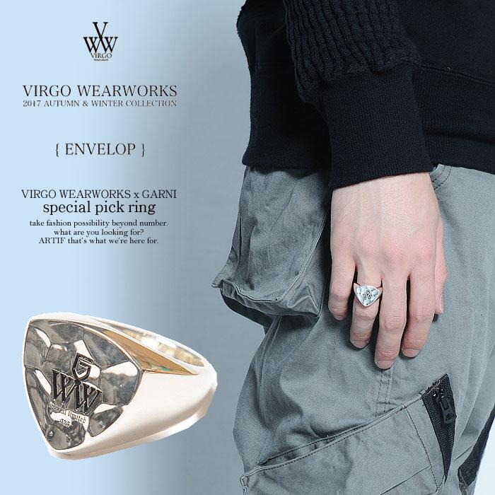 ヴァルゴ リング VIRGO VIRGO WEARWORKS x GARNI special pick ring【ストリート系 ファッション】