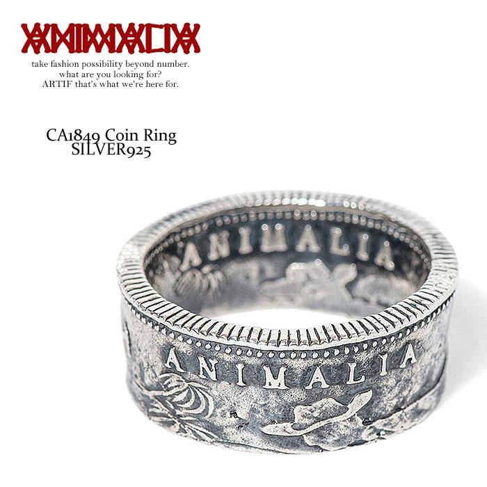 アニマリア リング ANIMALIA CA1849 Coin Ring -SILVER925-【ストリート系 ファッション】