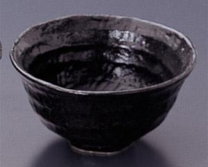瀬戸黒(六べ)茶碗(小)