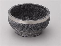 韓国直輸入 石鍋 ビビンバ ◆在庫限り◆ サイズ:φ14×7.2cm CHN 14cmステンレス巻石鍋 激安卸販売新品