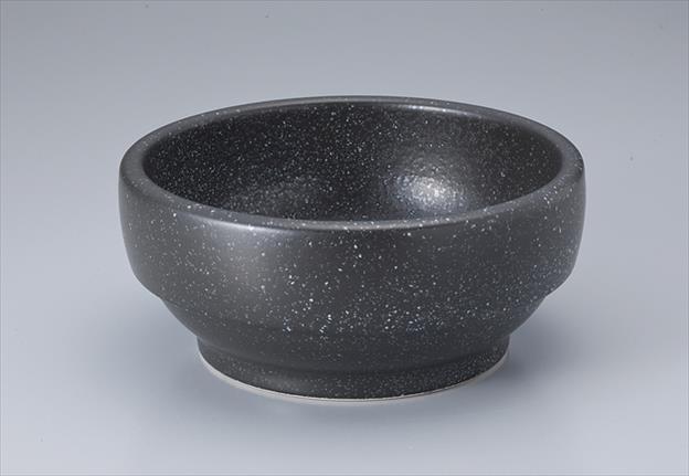 韓国直輸入 石鍋 大幅値下げランキング ビビンバ サイズ:18×H7.9cm 18cm 黒石目調 1年保証
