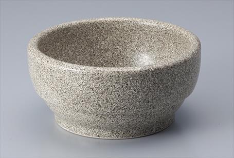 韓国直輸入 高い素材 石鍋 ビビンバ 14cm 発売モデル サイズ:14×H6.5cm グレー石目調