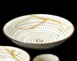 【キャッシュレス決済で5%還元!】手彫り(飛びカンナ)7.0鉢