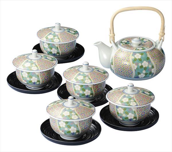 【キャッシュレス決済で5%還元!】有田焼 華小紋 茶托付蓋付茶器(4253) 4965814391750