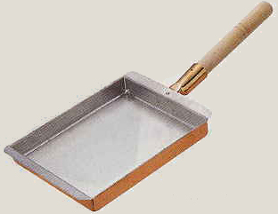 【送料無料】玉子焼 30cm 関西型 銅製 EBM【smtb-k】【ky】