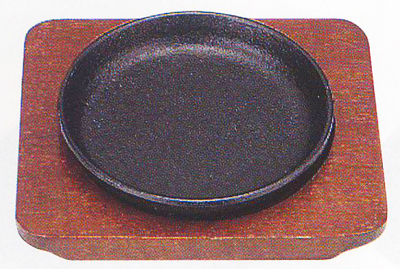 テーブルウェア お得クーポン発行中 特価品コーナー☆ キッチングッズの格安挑戦 ミニステーキ皿丸13cm
