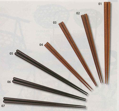 耐熱箸 21cm・黒(30膳入)