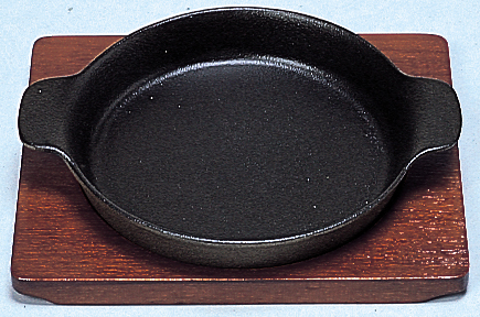 ステーキ皿 深丸型A 17cm