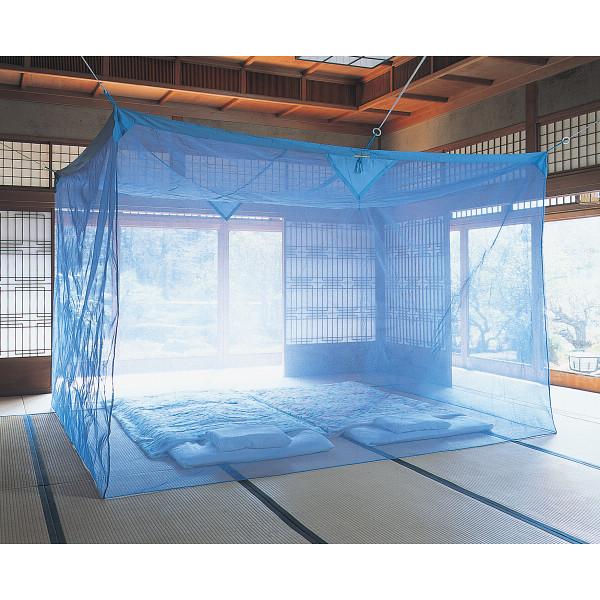 【キャッシュレス決済で5%還元!】【送料無料】京都西川 麻入り蚊帳 (かや)3畳用【10P05Sep15】