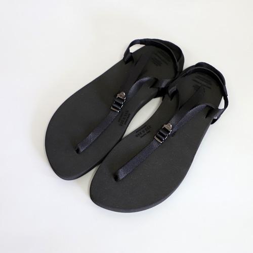 BEAUTIFUL SHOES【ビューティフルシューズ】-BAREFOOT SANDALS (black)【ベアフットサンダル】