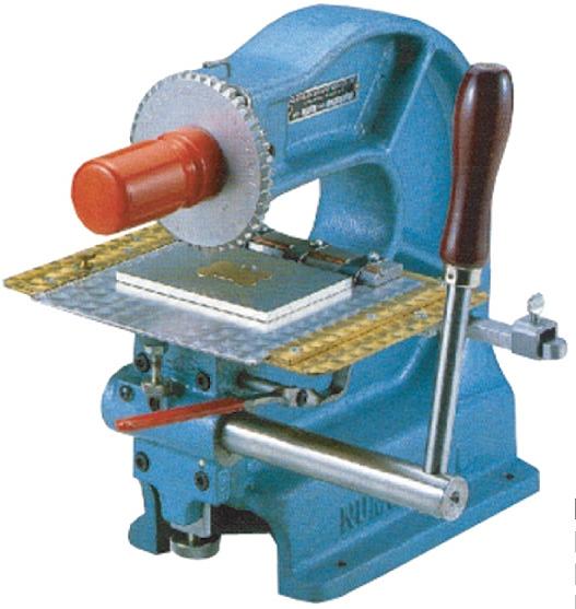【限定品】 回転式刻印打刻機MODEL40B-1.5mm:クラフトショップNAVI Am-DIY・工具