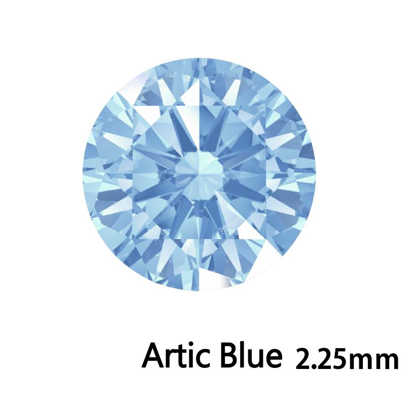 SWV(スワロフスキー) CZ RD Arc.ブルー LE(刻印あり) 2.25mm 500pcs