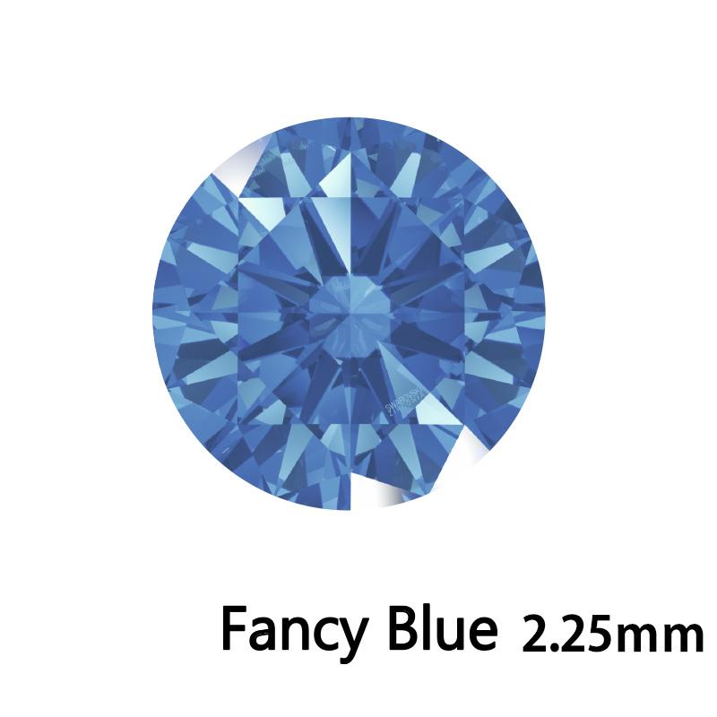 SWV(スワロフスキー) CZ RD F.ブルー LE(刻印あり) 2.25mm 500pcs