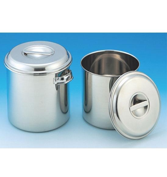 安値 研究機器 容器 バット 深型キッチンポット 36L 年中無休 ステンレス製 手付き