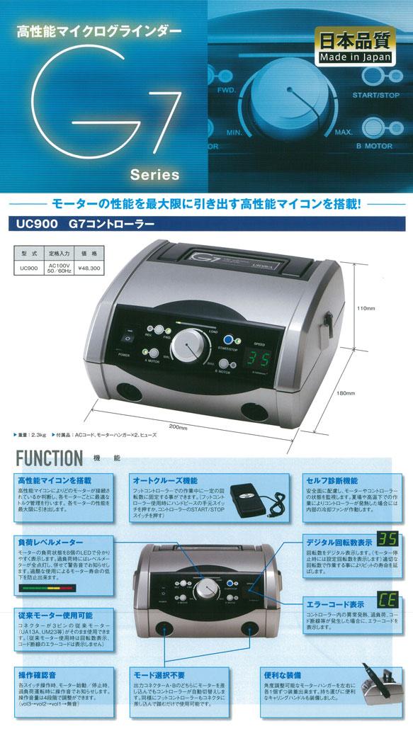URAWA(ウラワ)G7コントロールユニット UC900