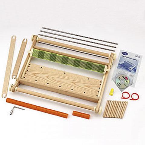送料無料 手織り機(織機・織り機)クローバー咲きおり(60cm・40羽)