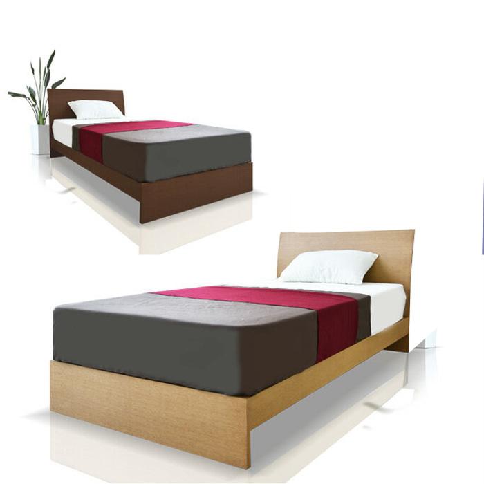 【クーポンSALE開催中】ベッド ベッドフレーム セミダブルサイズ 木製 ウォールナット オーク スノコベッド SDベッド 寝室 北欧 シンプル ナチュラル 1~2人用 *マットレスは別売りです。
