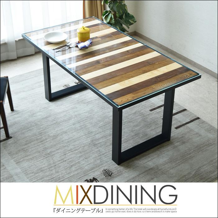 テーブル単品 シンプル ガラス 150cm 食卓 『 ダイニングテーブル150 BOLERO ボレロ 』