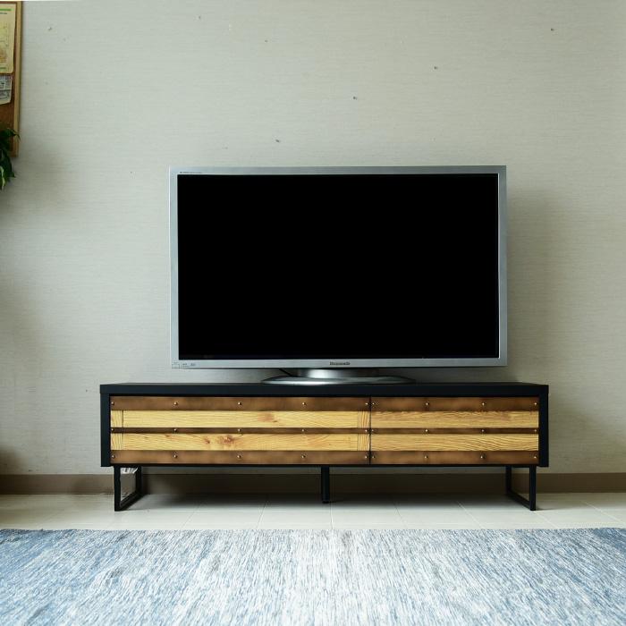【クーポンSALE開催中】ローボード テレビ台 テレビボード 幅150 日本製 完成品 リビングボード 引き出し収納 脚付き リビング収納 収納家具 脚付き 鉄製脚