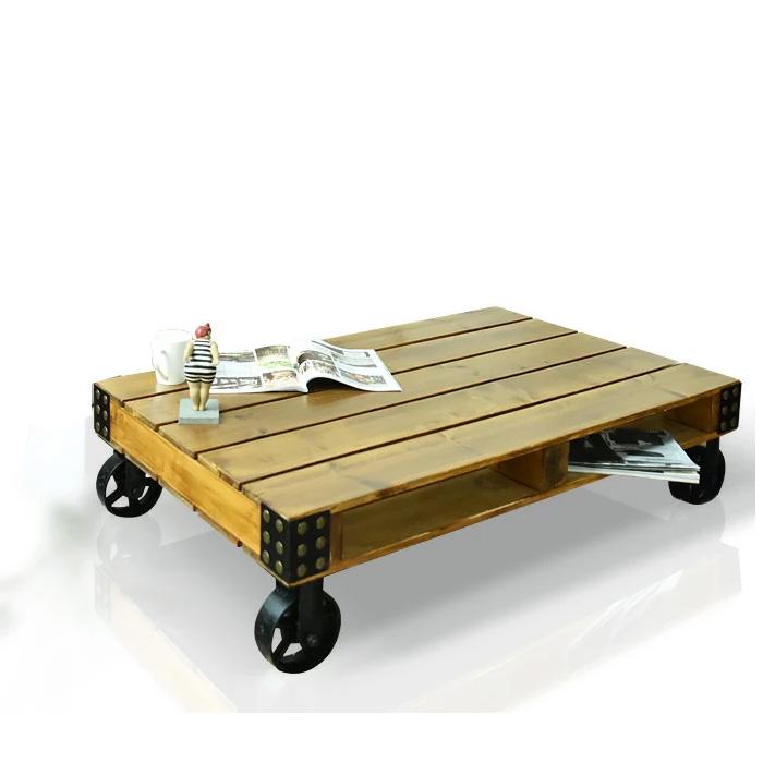 センターテーブル 幅120cm カントリー ログハウス リビングテーブル テーブル 天板 収納 大川 通販 家具