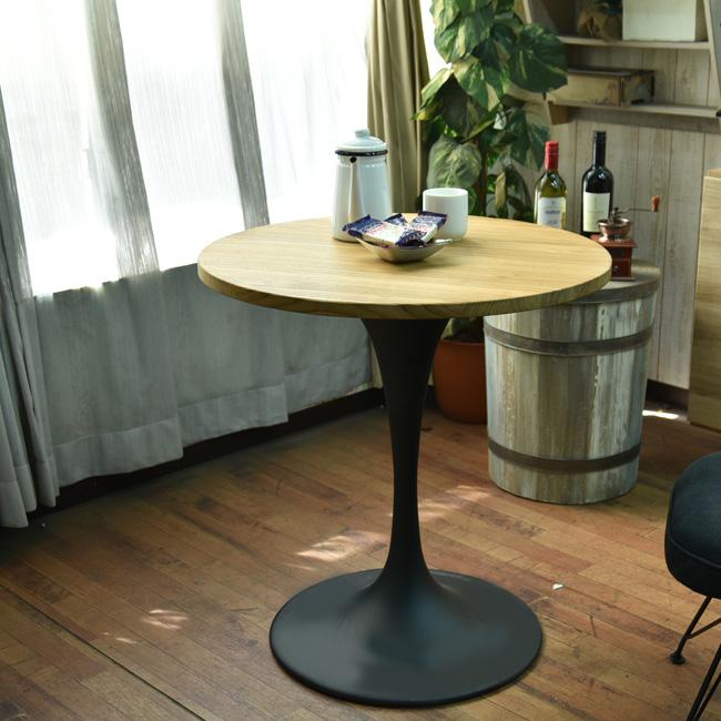 【クーポンSALE開催中】テーブル 幅70 丸テーブル ダイニングテーブル ラウンドテーブル ラウンジテーブル コーヒーテーブル 食卓 ブルックリンスタイル 西海岸スタイル