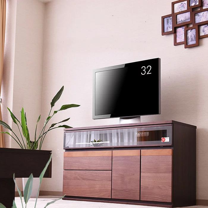 国産 テレビボード テレビ台 120cm TV サイドボード リビング リビングボード 大型 ハイタイプ TV台 AVボード AV収納 家具通販