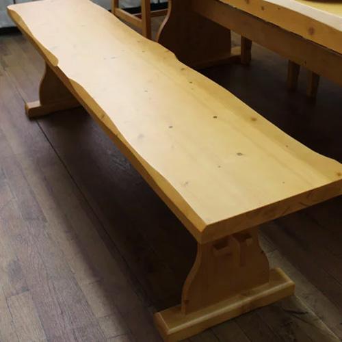 ダイニングベンチ カントリー 木製 無垢 北欧パイン カントリー家具 チェア- 椅子 シンプル 北欧 丈夫な家具