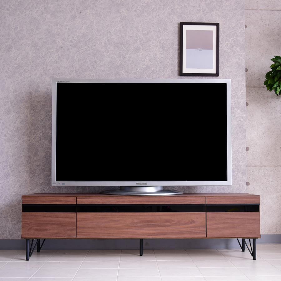 【クーポン配布中】テレビボード 幅180cm TVボード ロータイプ ローボード リビング リビングボード 完成品 大容量 TV台 テレビ台 液晶 薄型TV 木製