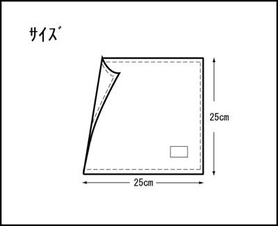 ランチョンマット氏名票つき(正方形)縦25cm横25cm499黄色バレリーナ裏はオレンジ色の無地