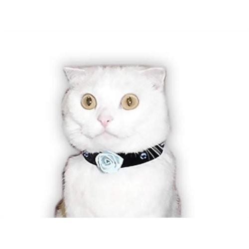 キャットプリンは猫用コスプレ衣装のパイオニア キャットプリン ビビアンチョーカー サファイアブルー 1枚 超歓迎された 猫の服 猫服 舗 キャットウエア 猫用 付け襟 ネックカラー 帽子 ペット名刺 ファッション かわいい 変装 ネコ おしゃれ 年賀状 散歩 コスプレ ねこ 記念写真