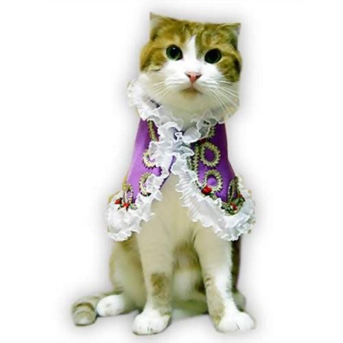 キャットプリン  ステファニー王女ちゃまのドレス(パープル)  1枚