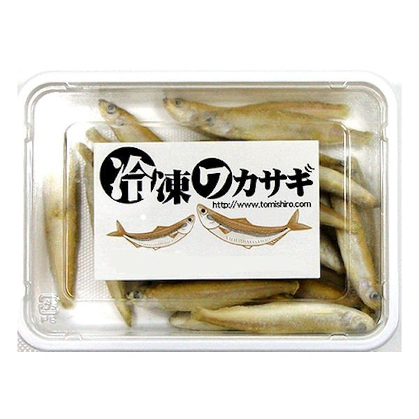亀 大型魚用エサに最適 期間限定で特別価格 ワカサギ 特売 バラ冷凍 100g×12個セット えさ 両生類 クール便にてお届け エサ 餌