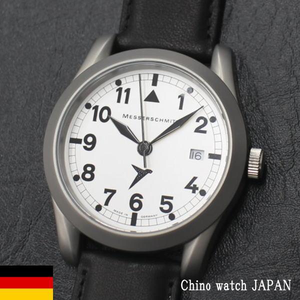 ドイツ製 メッサーシュミット Messerschmitt Quartz ME401B RONDA515 ドイツ時計 メンズ 腕時計 ブランド