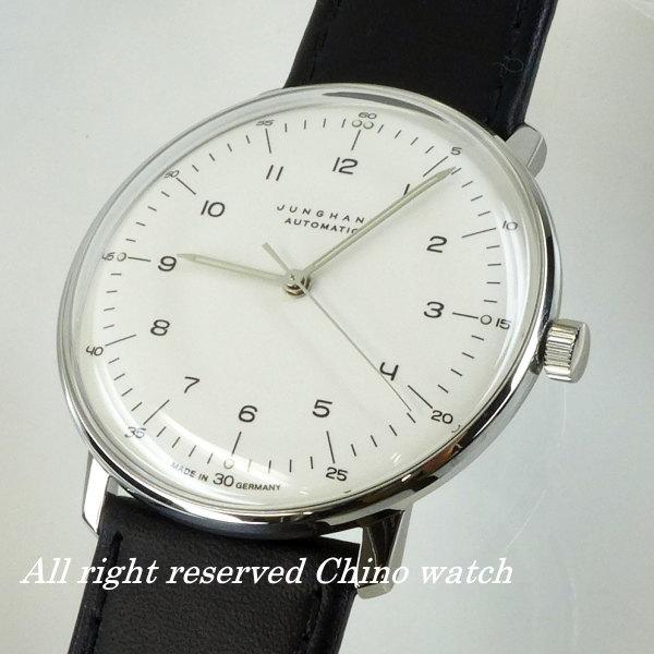 ユンハンス マックスビル オートマチック 027350000 バウハウス ドイツ時計 腕時計 メンズ ブランド