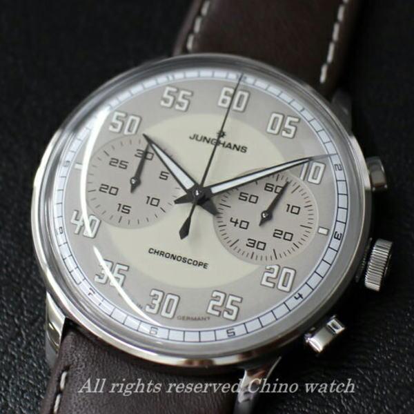 【取り寄せ】ドイツ時計 ユンハンス ドライバー クロノスコープ 027368400 腕時計 メンズ ブランド