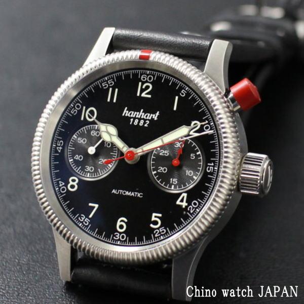 ハンハルト パイオニア マークワン 714.210-001 クロノグラフ ドイツ時計 自動巻き