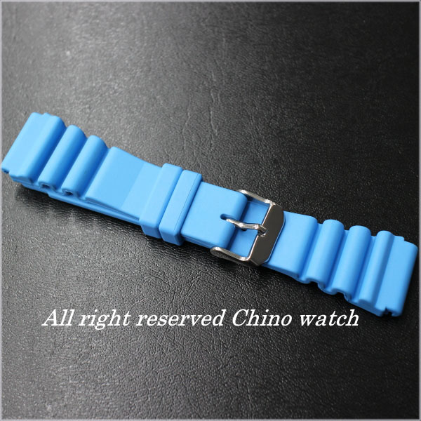 Italy-made rubber (natural rubber) diver belt watch watches