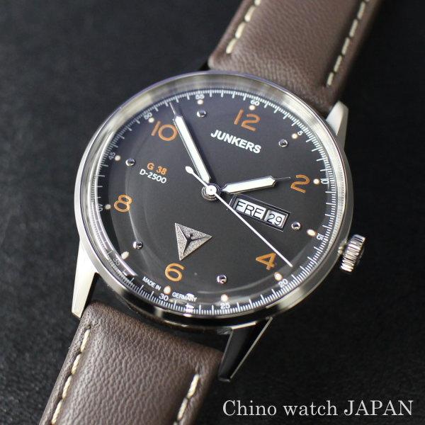 ユンカース JUNKERS G38 6944-5QZ ドイツ時計 クォーツ 腕時計 時計 メンズ ブランド