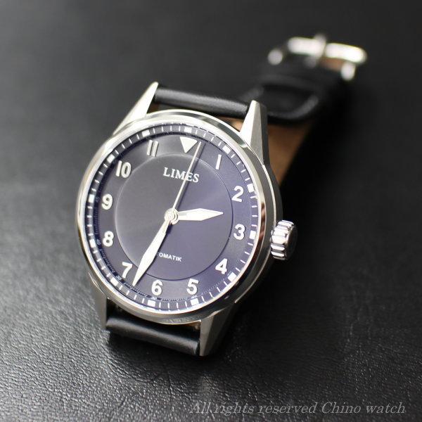 【在庫有り】New リメス LIMES ナイトフライト(NightFlight)U7817-LA1.1 自動巻き 腕時計 時計 メンズ ブランド