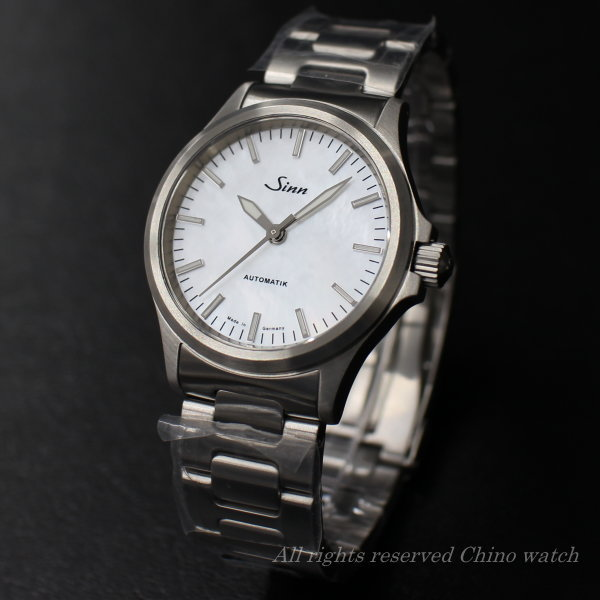 国内正規品 Sinn ジン 腕時計 556.I.Perlmutt.W 自動巻き 時計 送料無料 メンズ ブランド