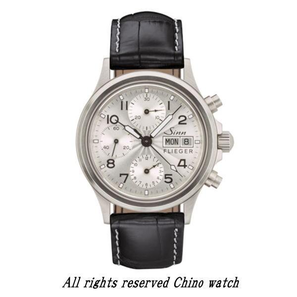 国内正規品 Sinn ジン 腕時計 356.SA.FLIEGER.3 クロノグラフ 2年保証 自動巻き 時計 送料無料