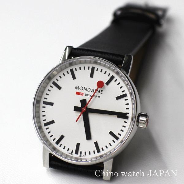 NEWモデル MONDAINE モンディーン Evo2 メンズ MSE35110LB 鉄道時計 腕時計 時計 ブランド
