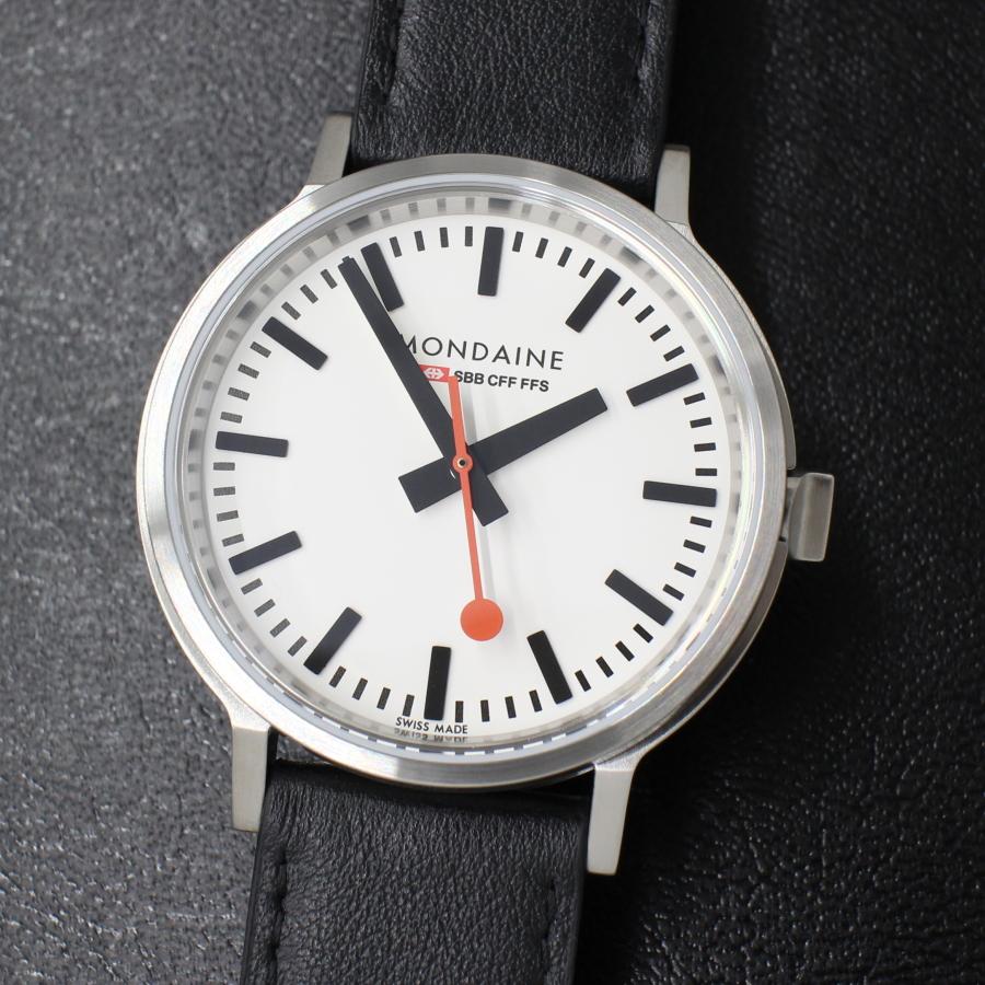 MONDAINE モンディーン stop2go MST.4101B.LB 鉄道時計 腕時計 時計 メンズ ブランド